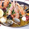 料理メニュー写真贅沢魚介のパエリア
