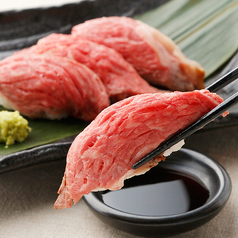 [単品] 牛ハラミ寿司 1貫