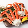 料理メニュー写真茹でズワイ蟹盛り