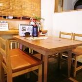 4名様掛けのテーブル席です。