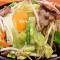 料理メニュー写真豚肉と野菜のジュージュー焼