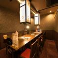【<10名様迄>テーブル個室】神田駅徒歩1分と、アクセスも抜群ですので仕事終わりのお食事や飲み会にも最適です。