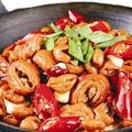 料理メニュー写真豚肉と白菜の四川風鍋/ホルモンの四川風鍋
