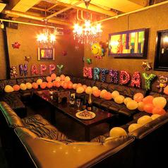 最大120名様までOKのバーアトム!貸切パーティーや宴会など気軽に使えるのが嬉しい♪