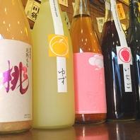 日本酒だけじゃない!女子に大人気果実酒も500円から♪