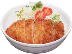 料理メニュー写真ロコモコ/照り焼きチキン丼/ソースカツ丼