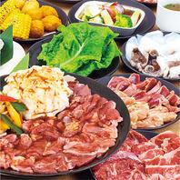 【超お得】人気の食べ放題は全3種類♪3280円(税別)~
