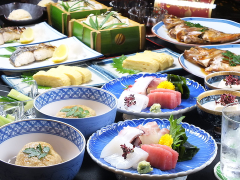 もともと割烹だったため、本格的な和食がお手頃なお値段でお楽しみいただけます♪