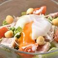 料理メニュー写真炙りベーコンのシーザーサラダ 590円(税抜)