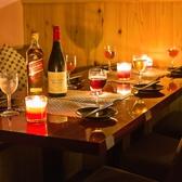 プライベートな飲み会や会社帰りの打ち合わせ場所としてもご利用頂いております。また飲み会や合コンでもご利用頂いておりますので、ご予約の際はご希望をお申し付けください♪