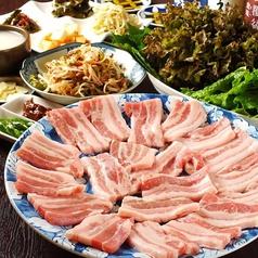 韓国料理 名水の写真