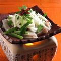 料理メニュー写真イカの肝焼き