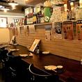 テーブル席や人気のカウンター席、お座敷個室までも完備しております!広々とした空間とお席で、いつもとは違った空間でのお食事をお愉しみください。駅近でおいしい馬肉料理をたくさんお召し上がりいただけるお店です♪各種宴会に最適な飲み放題付きコースや多数ある逸品料理と共に是非ご堪能ください。お席の予約受付中◎