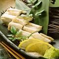 料理メニュー写真広島穴子の白焼き