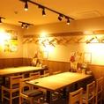【渋谷】広い空間でのテーブル席!人数様に合わせたお席をご用意致します!