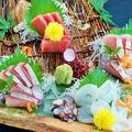 料理メニュー写真~新潟の鮮魚~お造り盛り込み 3点盛り/4点盛り