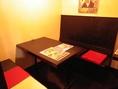 個室は2部屋ご用意。6名様までの座敷タイプが1部屋と5名様までのテーブルタイプが1部屋。個室に関しましてはお早めのご予約をおすすめ致します。