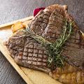 料理メニュー写真黒毛和牛のビステッカ