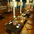 各テーブル一つ一つに排煙設備を完備☆快適に焼肉をお楽しみくださいz!
