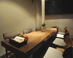 ゆっくり話せる個室もご用意。団らんのひとときをお楽しみください♪