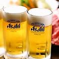 【こだわり3】とにかくドリンクが安!生ビール290円(税抜)・サワー380円(税抜)と激安!