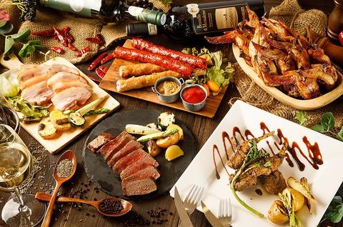 貸切最大150名様までOK◎自家製窯焼きお肉と本格エスニック料理が味わえるビストロ!