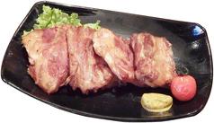 料理メニュー写真県産豚のスモーク軟骨