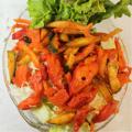 料理メニュー写真スパイスサラダ