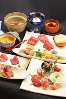 季節の旬食材と松阪牛肉