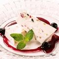 料理メニュー写真シチリア風アイスチーズケーキ