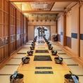個室は最大30名様まで収容可能です。【もつ鍋 前田屋】