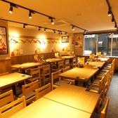 【渋谷】簡単に席替えできるテーブル席