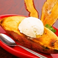 料理メニュー写真宮崎紅の丸ごとスィートポテト バニラアイス