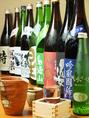酒好きにはたまらない日本酒、焼酎などアリ