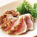 料理メニュー写真宮崎 地鶏の炙り刺し(2人前より)