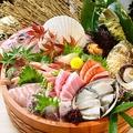 料理メニュー写真大漁盛り