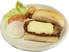 料理メニュー写真ハンバーガーサンド/チーズバーガーサンド