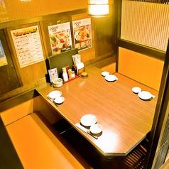 当店1番人気の4名様個室。