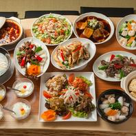 120種類以上の豊富な料理!