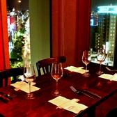 大人気にカップル席★抜群のロケーションと、極上のお料理を、、、。