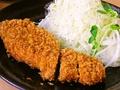 料理メニュー写真ロースカツ定食120g