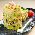 料理メニュー写真蟹とアボカド 焼きタルタル