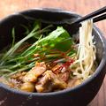 料理メニュー写真阿波尾鶏炭火焼き 白湯ラーメン