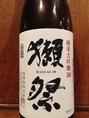 【山口・獺祭/純米大吟醸】グラス800円