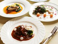 青森の食材を生かしたフレンチ料理
