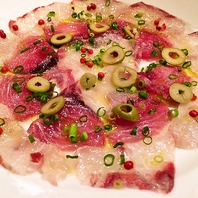宮崎県島野浦産直 鮮魚のカルパッチョ