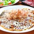 料理メニュー写真キングポークの豚玉お好み焼き