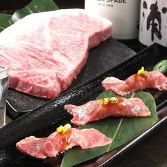 霜降り炙り肉寿司5貫