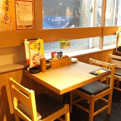 【渋谷】2人で飲むのも、お仕事帰りに一人でふらっとお立ち寄りも最適なお席!広々とした店内でごゆっくりお楽しみください!