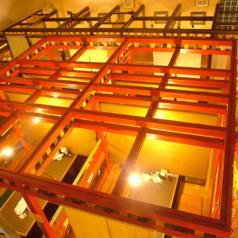 2階の30名様席や4名様の完全個室、テラス席から見える解放感ある景色は圧巻です。一度見て確かめてください